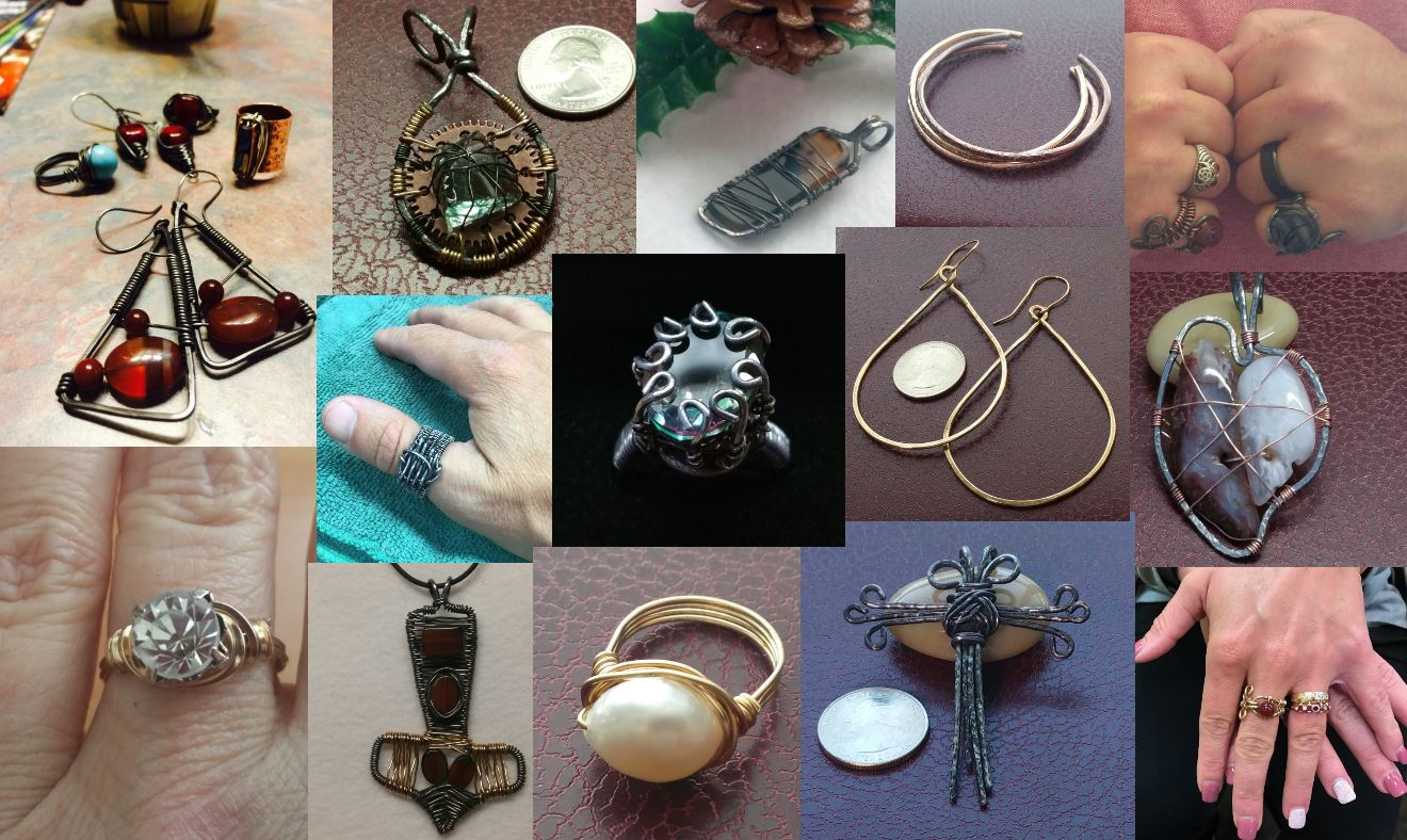 Tracy J Designs Jewelry Collage