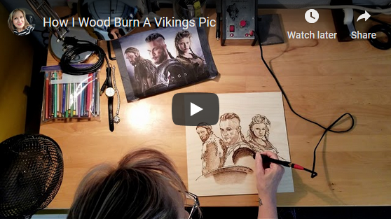 How I Burn A Vikings Pic