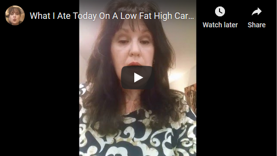 What I Ate Today On A Low Fat High Carb Plant Based Diet