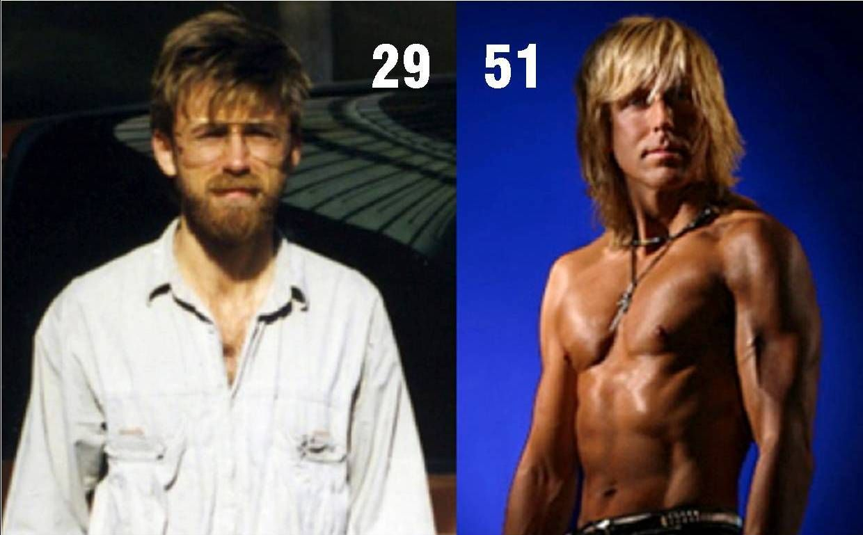Markus Rothkranz - Before and after Raw Foods