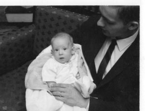 Baby-Tracy-and-Dad-1962