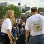 Jeff and Tracy Speaking at Seattle Hempfest