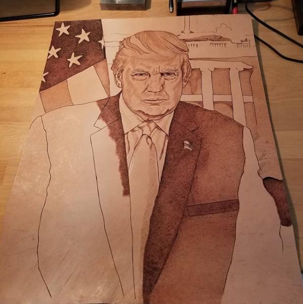 Donald Trump - Presidential Portrait -Update 1