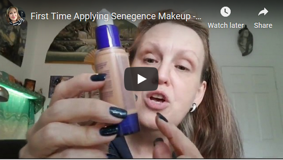 First Time Applying SeneGence Makeup - Full Face