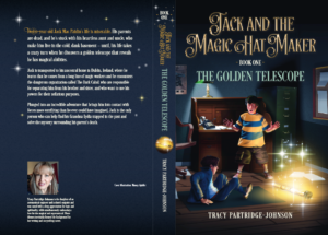Book One - The Golden Telescope - Full Cover Layout