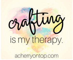 A Cherry On Top - Crafting Is My Therapy