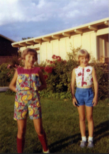 Steph and Tracy - About 8 yrs. old