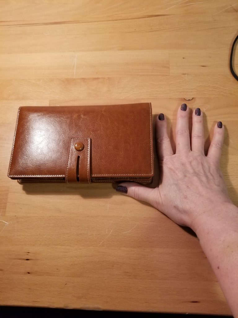 First Wallet - Wrong Type of Leather