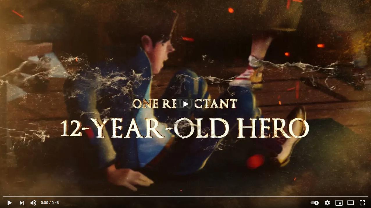 Video Trailer: The Golden Telescope